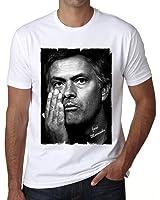 José Mourinho T-shirt,cadeau,Homme,Blanc,t shirt homme