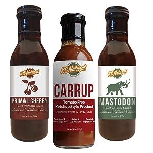KC Natural - BBQ and No Tomato Ketchup Bundle - Paleo And AIP Friendly - Nightshade Free