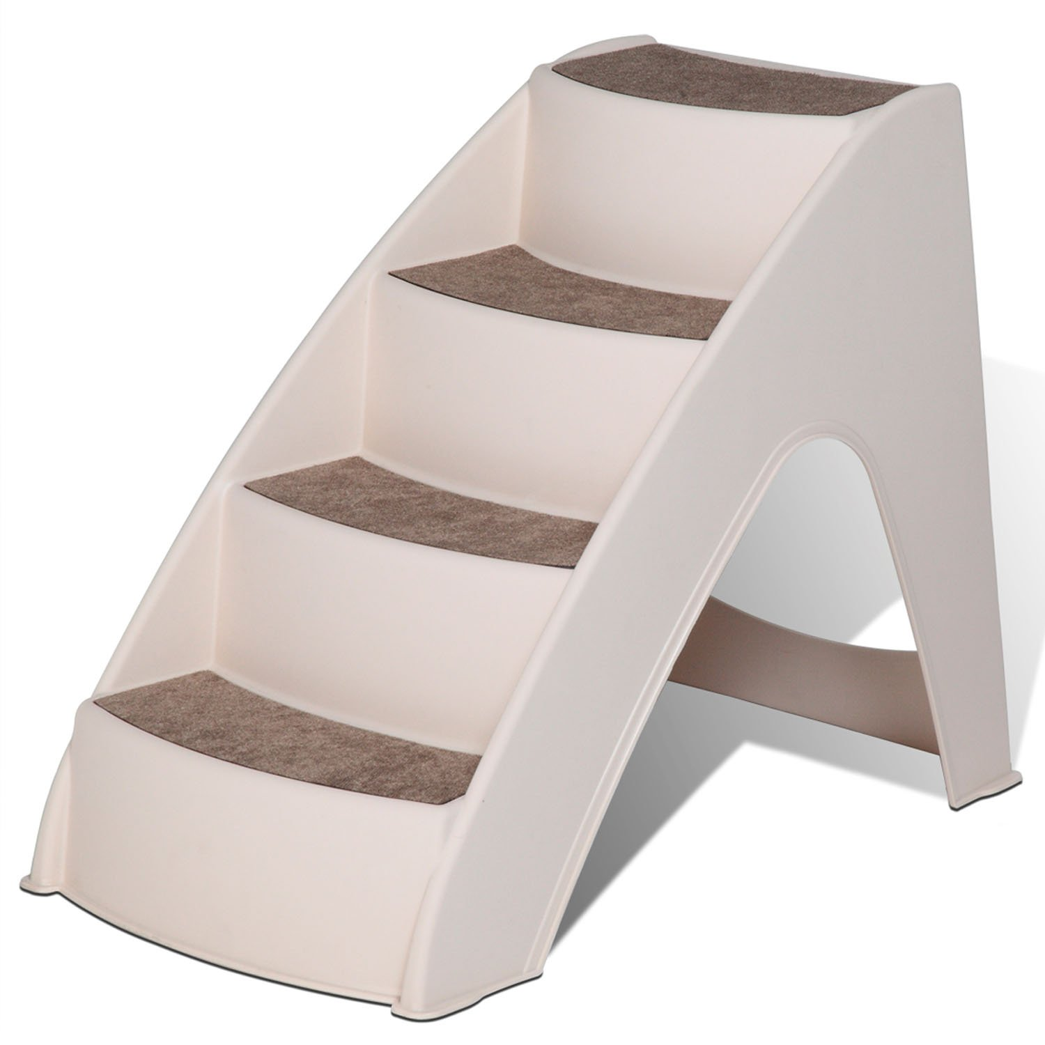 Solvit PupSTEP Lite Small Pet Stairs, Beige, One Size