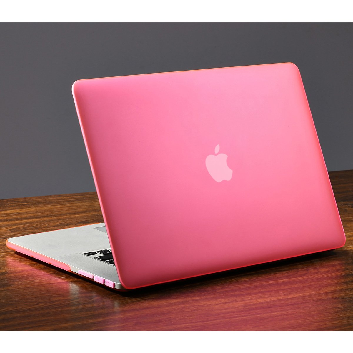 Matte Finish with Rubber Feet Model A1398 Retina, 15 inch, Mid 2012 to Mid 2015 Rose Quartz lention Hard Case with Dust Plug for MacBook Pro