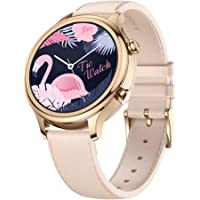 Mobvoi TicWatch C2, Wear OS by Google Classic smartwatch, IP68 Sweat and Waterproof, Google Pay, Compatible with iPhone and Android (Rose Gold)