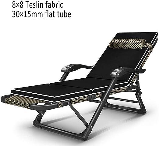 XEWNEG Silla de jardín reclinable Tumbona Plegable Tumbona en el ...