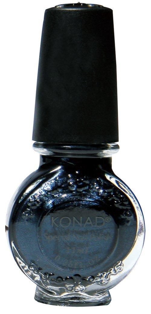 Amazon.com : Konad Nail Art Stamping Polish, Black Pearl : Beauty