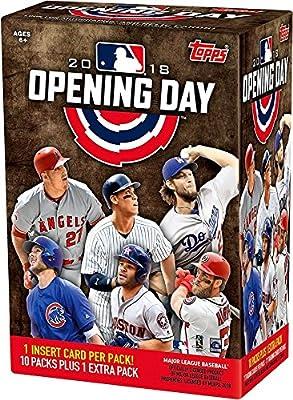Topps 2018 Opening Day Baseball Factory Sealed 11 Pack Blaster Box - Baseball Wax Packs