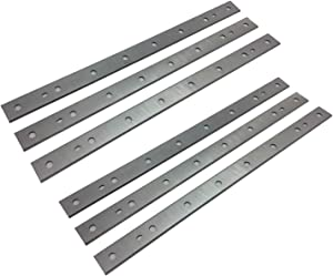 13-Inch Replacement HSS Planer Blades Knives for DeWalt DW735, DW735X Planer - 2 Sets (6 Pack)