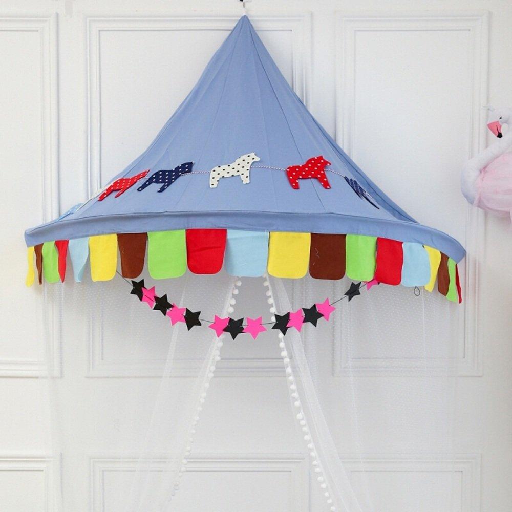 punto de venta Wadwo Tiendas de Esquina para para para niños Corner Indoor Game Tents Colgante de Parojo Estilo nórdico para bebés niños Reading Play, (Only One Tent) -by Virtper (Color    C, Tamaño   S) Large  popular