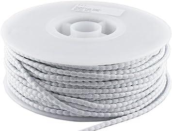 Beschwerungsband für Gardinen u 13m 50g Bleiband EU Norm Vorhänge Bleikordel