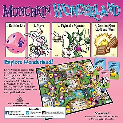 Steve Jackson Games Munchkin Wonderland Board Game: Toys & Games