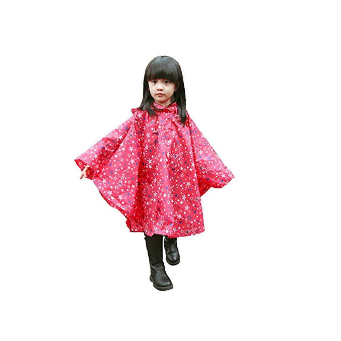 b2165939a BAILIDA - Abrigo impermeable - chaqueta guateada - para niña rojo rosso  Talla única: Amazon.es: Ropa y accesorios