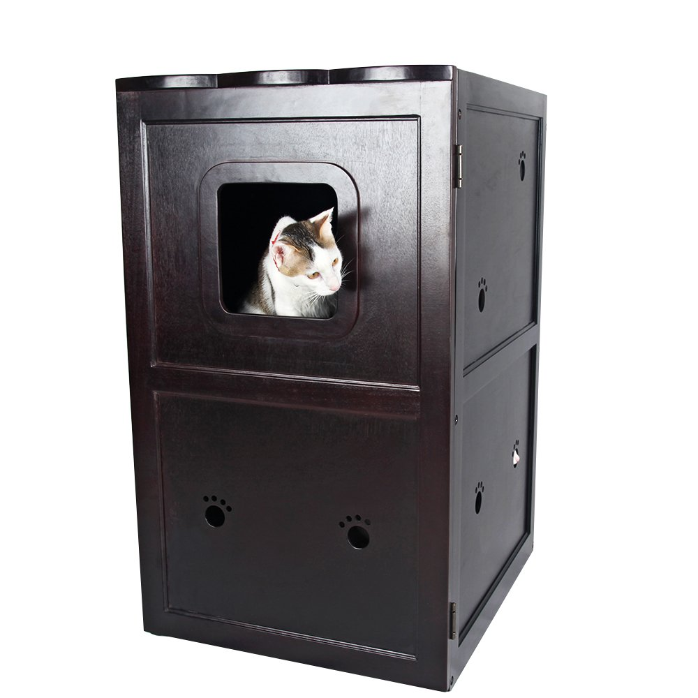 Litter Box Furniture Night Stand