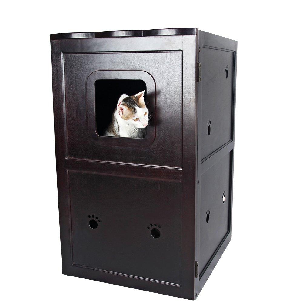 Litter Box Furniture Night Stand