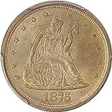 1875 S 20-Cent Pieces Twenty Cent Piece MS64 PCGS