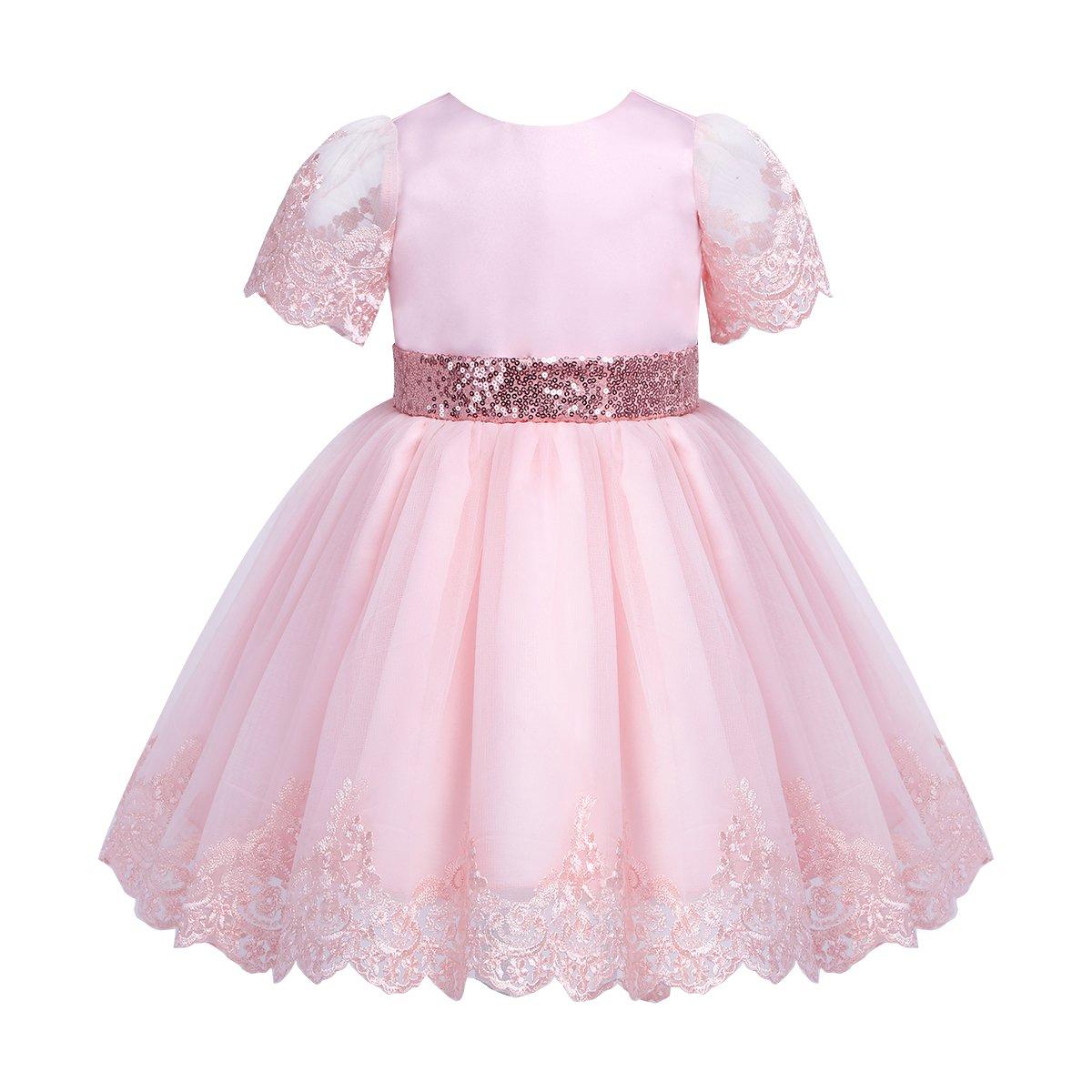 世界の dPois DRESS 3 ベビーガールズ 3 DRESS - 6 Months ピンク - B07F3YLLKB, 上浮穴郡:2d9d5075 --- a0267596.xsph.ru