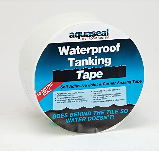 Everbuild AQWPTT10M Aquaseal Waterproof Tanking Tape