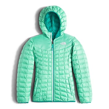6a4f70855 The North Face Girl's Reversible Thermoball Hoodie Down Jacket