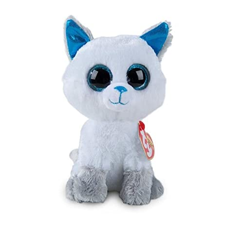 95d597d517b Amazon.com  Ty Beanie Boos Frost Exclusive 6 INCH  Toys   Games