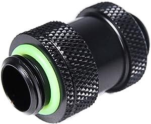 "Barrow G1/4"" Adjustable Aqua Link Pipe (22-31mm), Black"