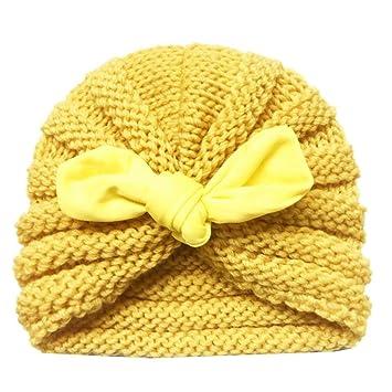 005190cbd0287 Wovemster Sombrero de Invierno con Gorro de Lana Acolchado Cálido para Niños