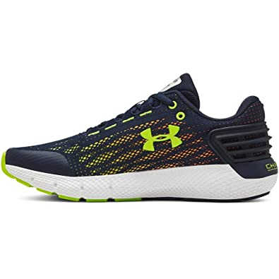 buy online 6b473 fecd7 Under Armour Boys  Grade School Charged Rogue Sneaker, Academy (401) White