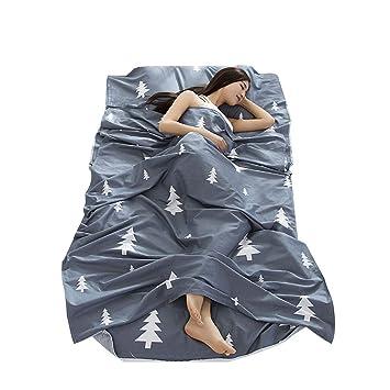 simanli Cocoon cabaña Interior XXL Saco de dormir Saco de dormir de algodón, saco de