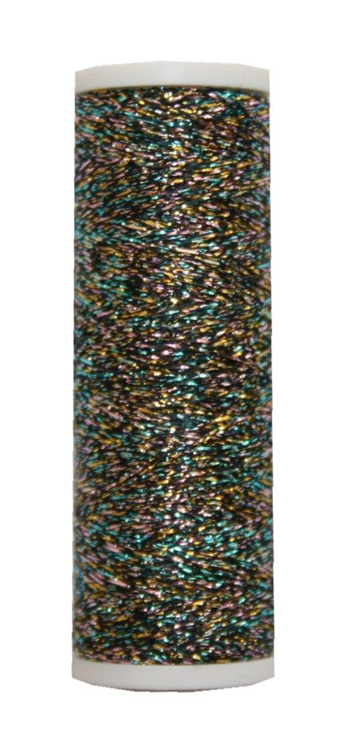 multicolore Fil m/étallis/é mETALUX beilauffaden 60 regenboden 0340 m