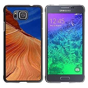 """For Samsung Galaxy Alpha G850 , S-type Naturaleza Hermosa Forrest Verde 190"""" - Arte & diseño plástico duro Fundas Cover Cubre Hard Case Cover"""