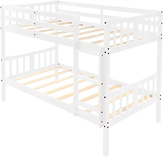 Beck OrlaIigt Bedroome for niños Twin sobre Twin Bunk Bed Cama ...