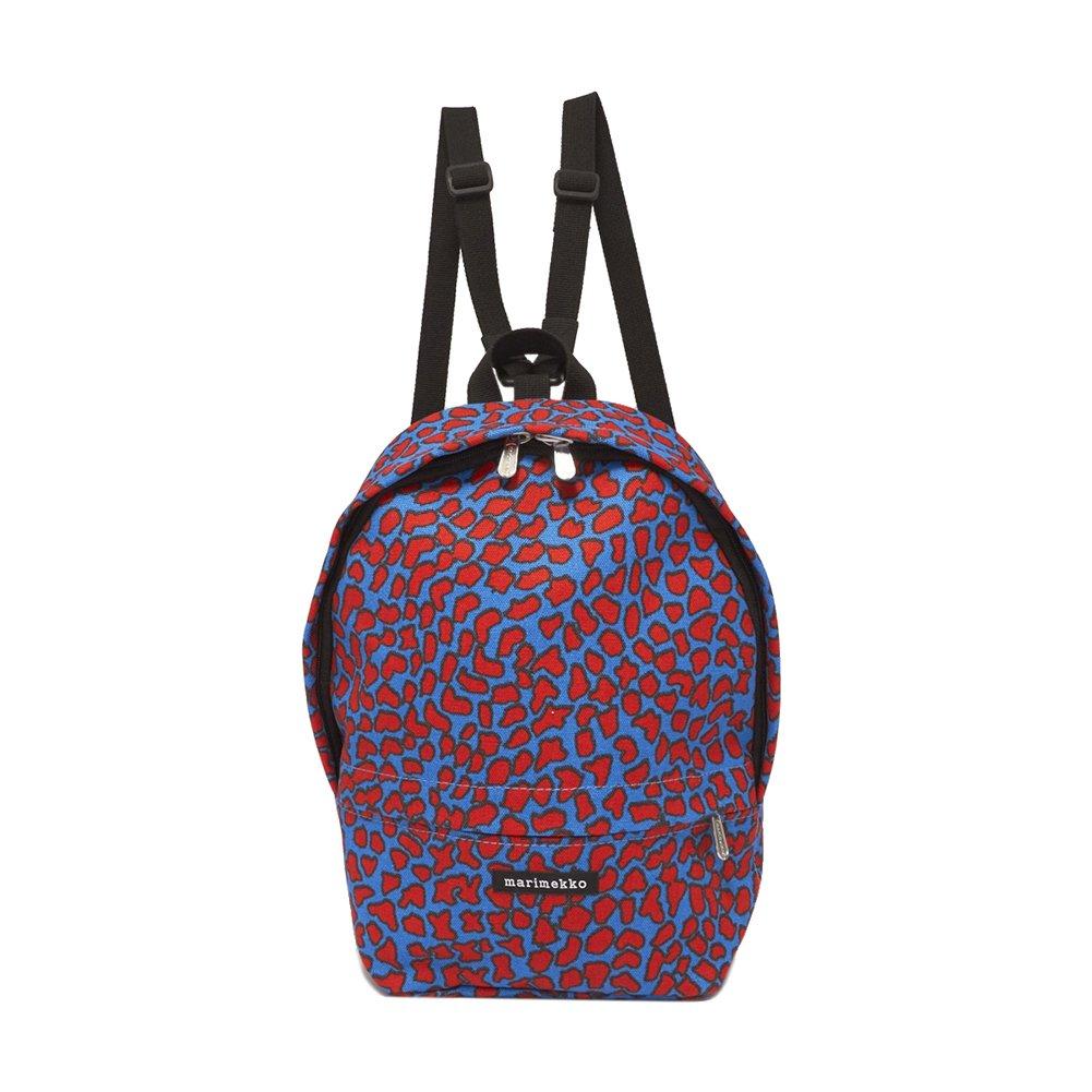 [マリメッコ] バックパック ミニ エイラ ピトゥカイカヴァナ レディース 530 BLUE/RED [並行輸入品] B07NZ42R5G