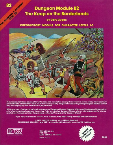 The Keep on the Borderlands (Dungeons & Dragons Module B2) (Module Game)