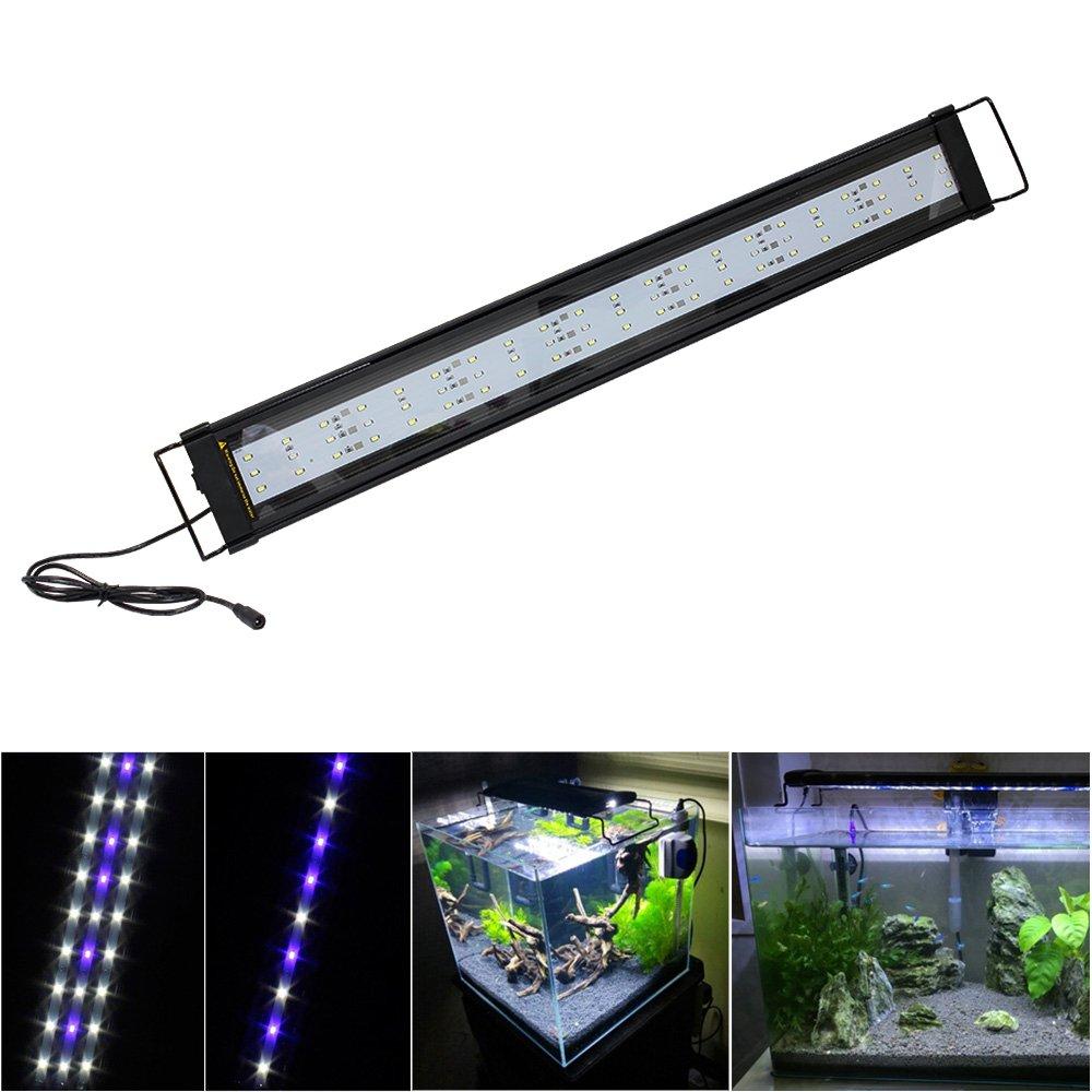 SPEED Aquarium Aufsetzleuchte LED Lampe Aluminiumgehäuse Beleuchtung ...