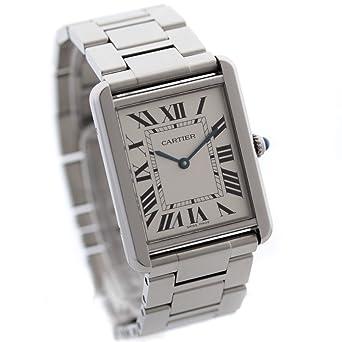 newest 7aef2 ba39e Amazon   Cartier(カルティエ) タンクソロLM メンズ 腕時計 ...