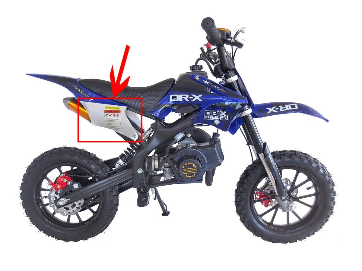 SYX MOTO Holeshot Kids Mini Dirt Bike Parts and Accessories 37-front axle