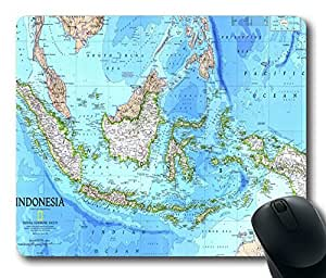 """MAP Top Game Mouse Pad PC Computer Gaming Mousepad Fabric + Rubber Material in 220mm*180mm*3mm (9""""*7"""") -827016"""
