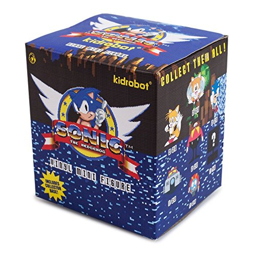 Vinyl Figure Kidrobot (One Blind Box Sonic The Hedgehog Mini Series Vinyl Figure By Sega X Kidrobot)