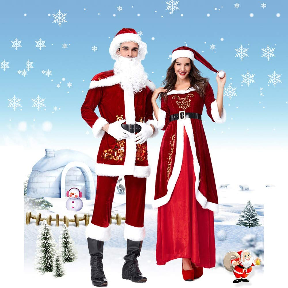 Luoluoluo Natale Vestiti Donna 799782b5a6f