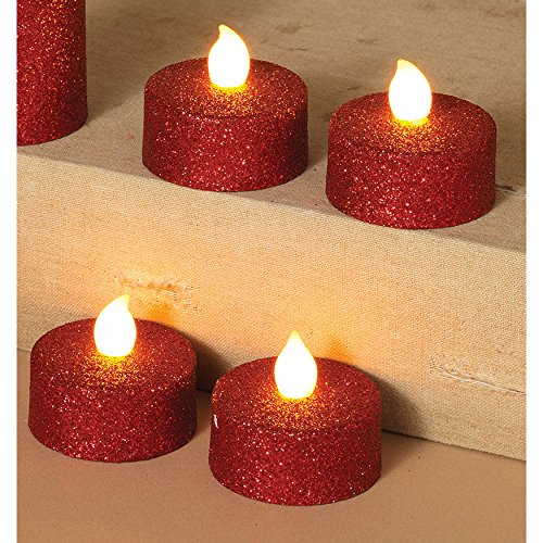 Red Led Candle Light in US - 8