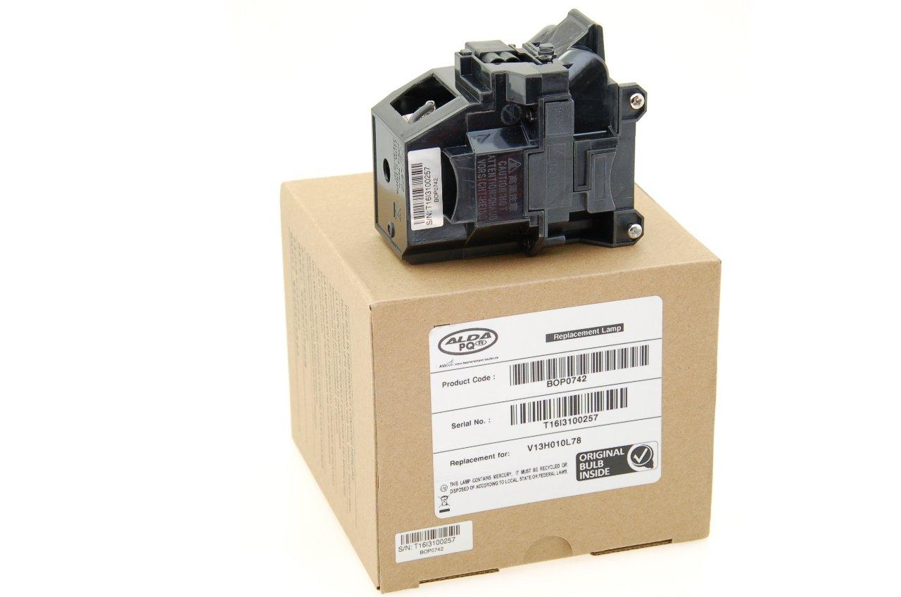 Alda PQ Original Beamerlampe f/ür EPSON EB-X25 Projektoren Markenlampe mit PRO-G6s Geh/äuse