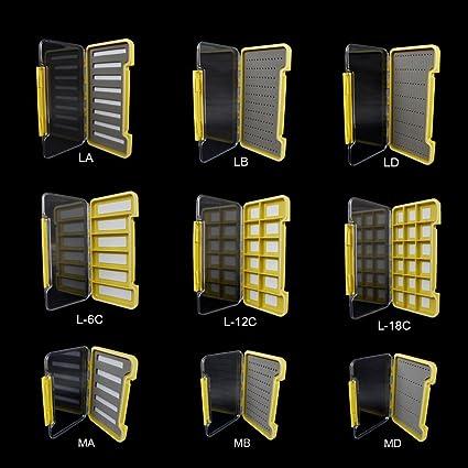 12C18C magnétique Compartiment Box Aventik super slim 100/% Waterproof Fishing Box 6 C