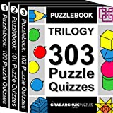 Puzzlebook Trilogy: 303 Puzzle Quizzes (color and interactive!)