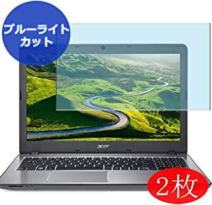 """【2 Pack】 Synvy Anti Blue Light Screen Protector for Acer Aspire F Series F5-573-H78G / S 15.6"""" Anti Glare Screen Film Protective Protectors [Not Tempered Glass]"""