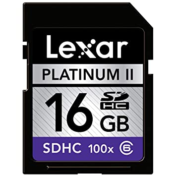 Amazon.com: Lexar Platinum II - Tarjeta de memoria flash SD ...