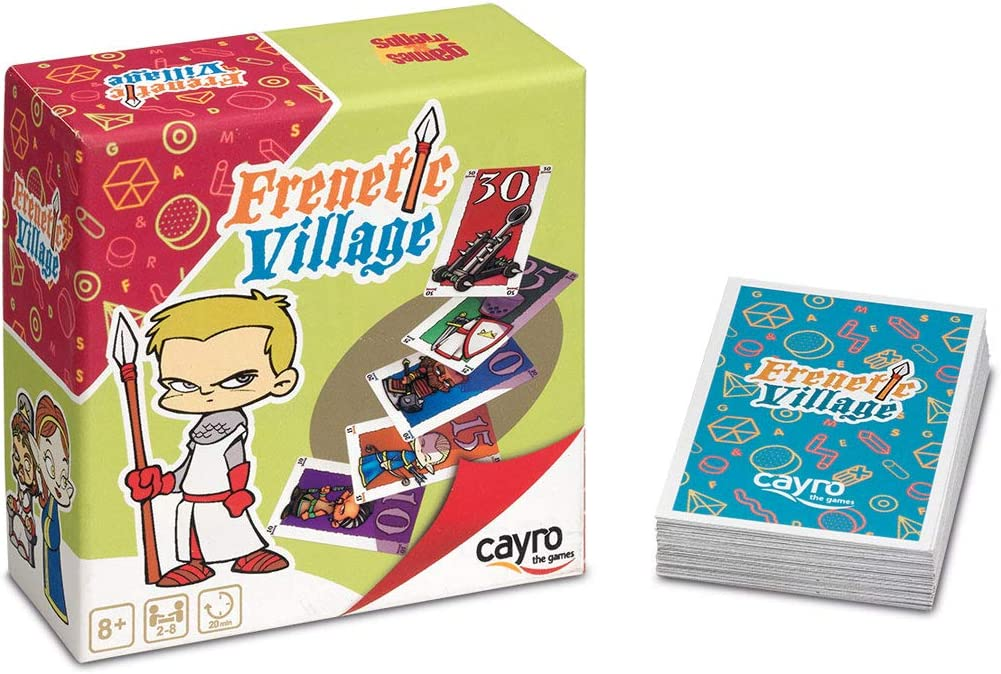 Cayro - Frenetic Village - Juego de razonamiento y estrategia ...