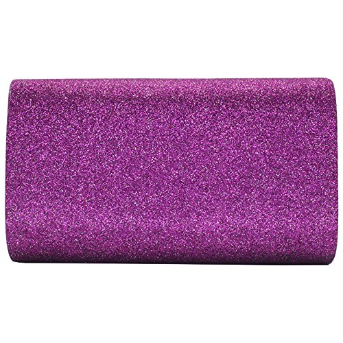 Cckuu New Glitter Prom Wedding Party Womens Envelope Clutch Bridal Navy Bag Blue Sparkling Purple vvrwqp