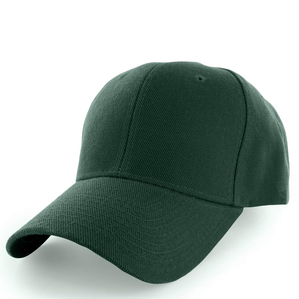 2dc37b709a21b KANGORA Plain Baseball Cap Adjustable Men Women Unisex