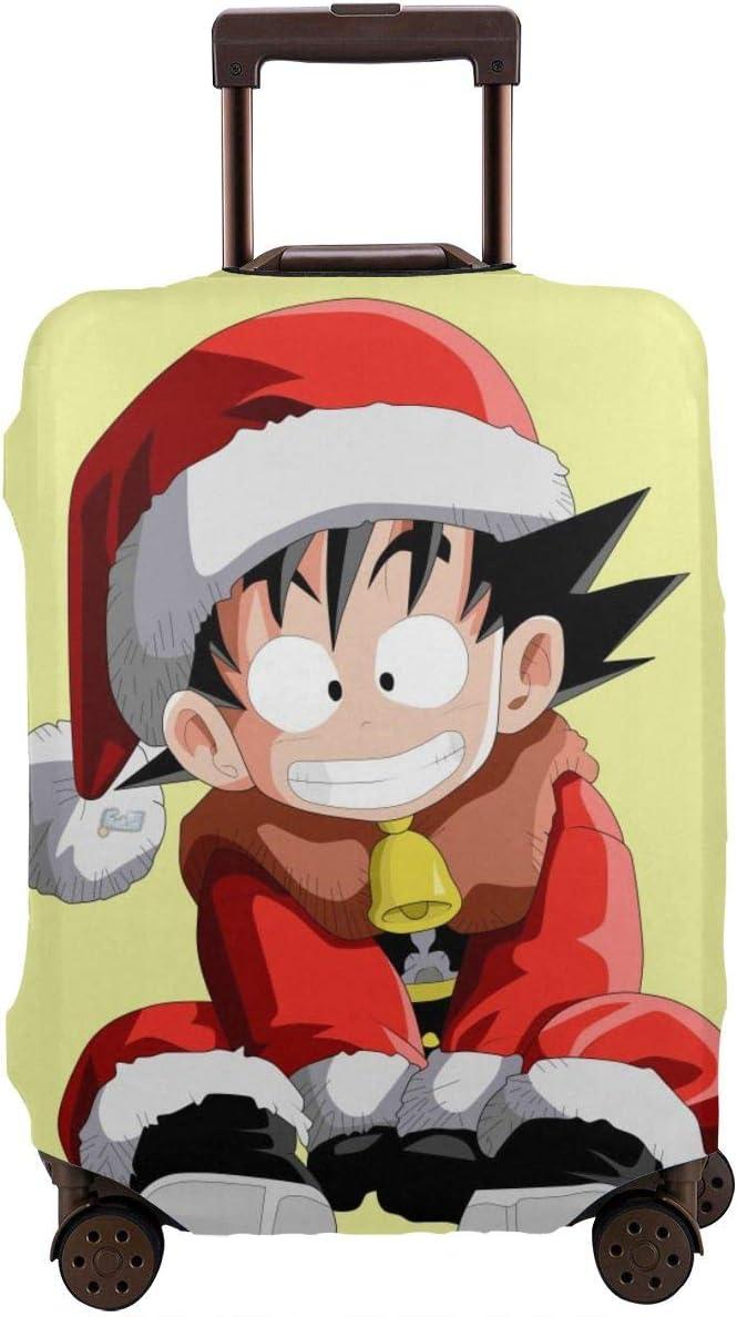 Funda para Equipaje de Viaje, diseño de dragón de Anime para niños Goku Merry Christmas Maleta, Fundas Protectoras con Cremallera Lavable, Blanco (Blanco) - EUUK-LUGG-AGE-00O0C1