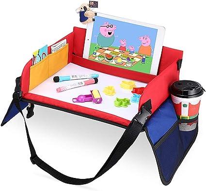 Mesa para Niños en la Asiento de Coche, YOOFAN Bandeja de Viaje ...