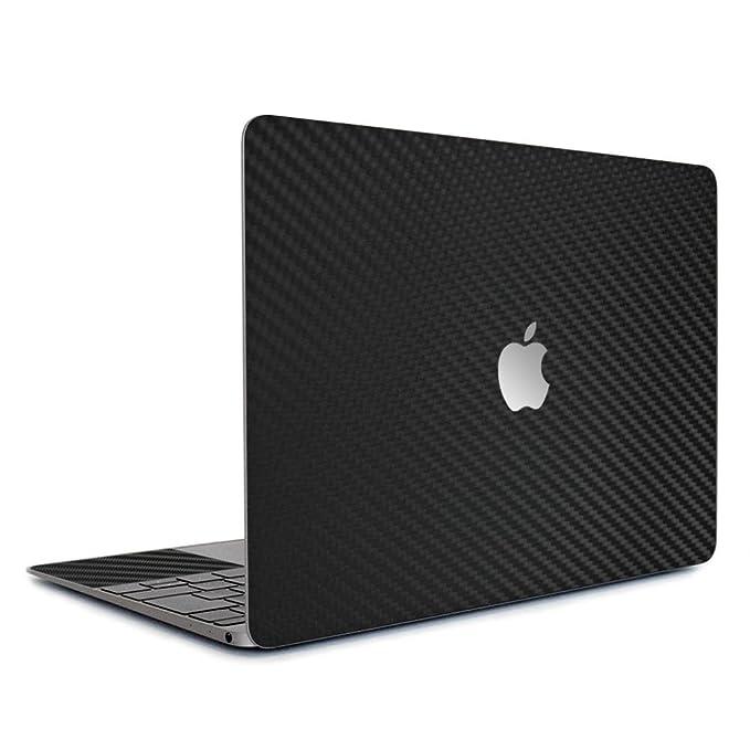 [全31色] wraplus for MacBook Air Retina 13 インチ [ブラックカーボン] スキンシール ケース 2018 2019