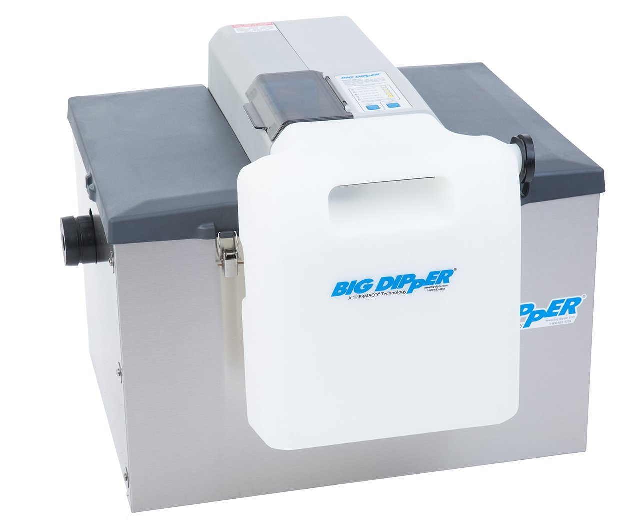 Big Dipper W-250-IS - 25 GPM Stainless Steel Automatic Grease Removal Unit