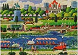 Hometown Collection Swan Boats in Boston Park 1000 Piece Puzzle by HOMETOWN COLLECTION