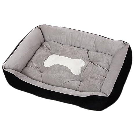 Cama para Perro Gatos Pequeño Grande Mascotas Sofá Lavable (M:70*50*